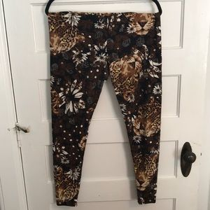 TC Lularoe Cheetah Leggings